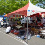 フリーマーケットで掘り出し物を見つけるのも、イベントならではの楽しみ方