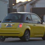 500はリバイバル版だが、モデルにしたのは初代のトポリーノではなく、2代目の「Nuova(=New)500」。リアの台形のフォルムをうまく現代流にアレンジしている