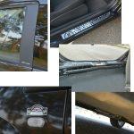 Bピラーのカーボン調シート、左右サイドマーカー部とリアゲートに専用のデカール、キッキングプレート、フロア補強、テールゲート補強がCdAの特徴