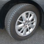 タイヤサイズは225/55R17
